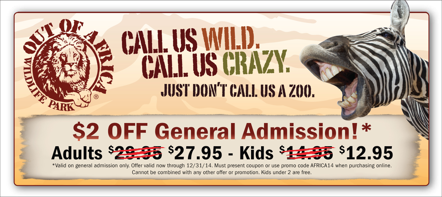 Miami zoo discount coupons 2018